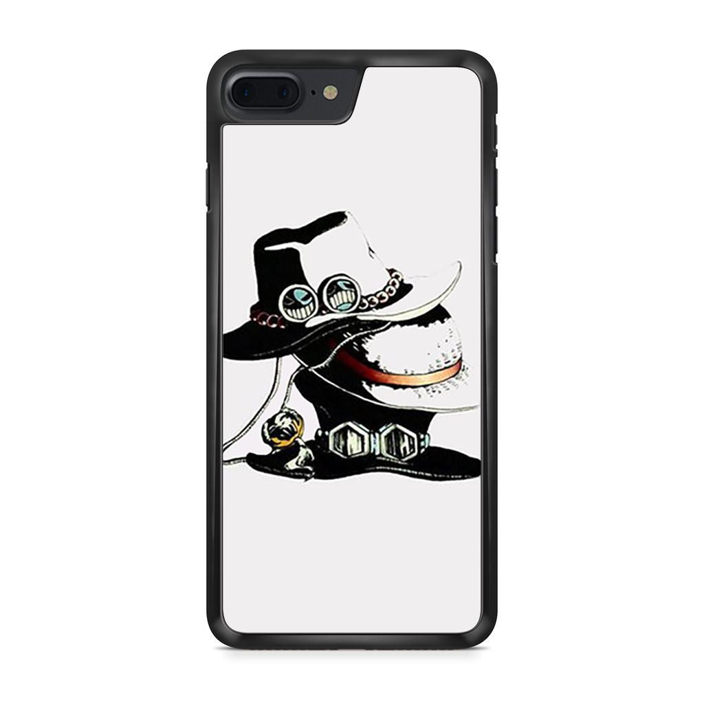 3 Hat Of Ace Sabo Luffy One Piece iPhone 7 Plus case