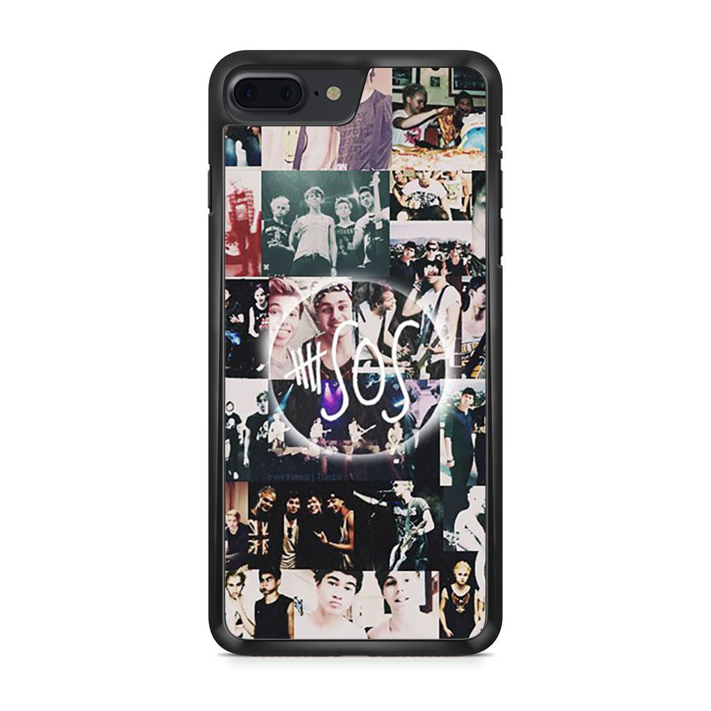 5 Seconds Of Summer Collage iPhone 7 Plus case