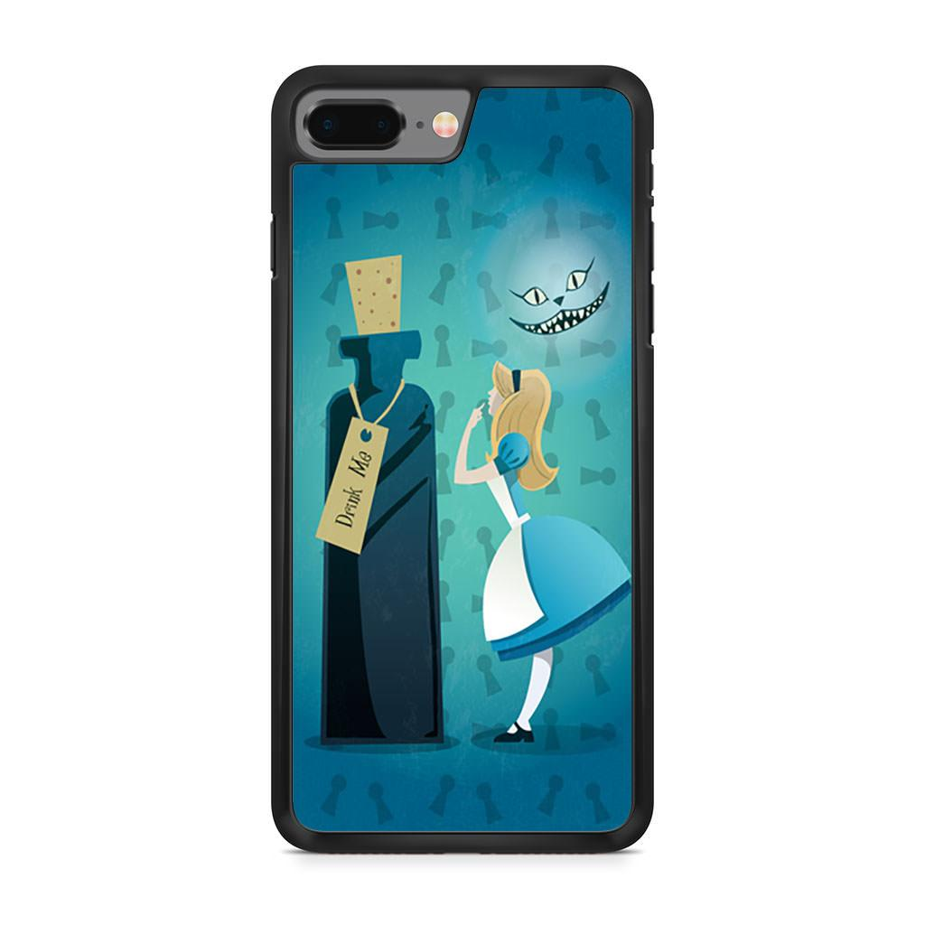 Alice In Wonderland Drink Me iPhone 8 Plus case