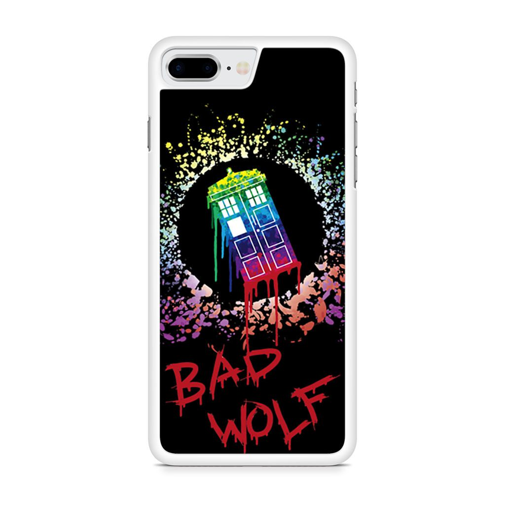 Bad Wolf Doctor Who Tardis iPhone 8 Plus case