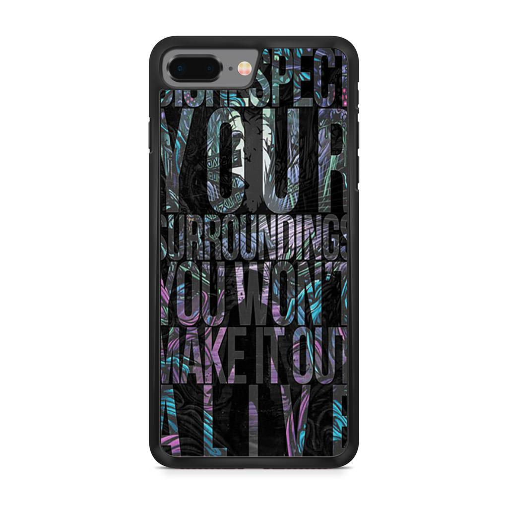A Day To Remember Mr Highway's Thinking iPhone 8 Plus case
