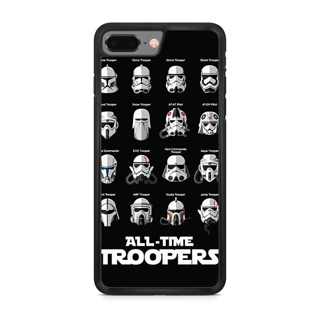 All Time Troopers Stormtrooper Star Wars iPhone 8 Plus case
