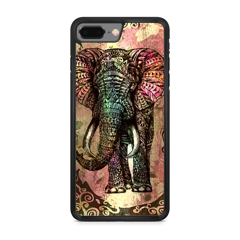 Aztec Tribal Elephant iPhone 8 Plus case