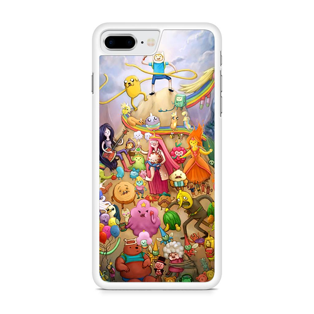Adventure Time All Characters iPhone 8 Plus case