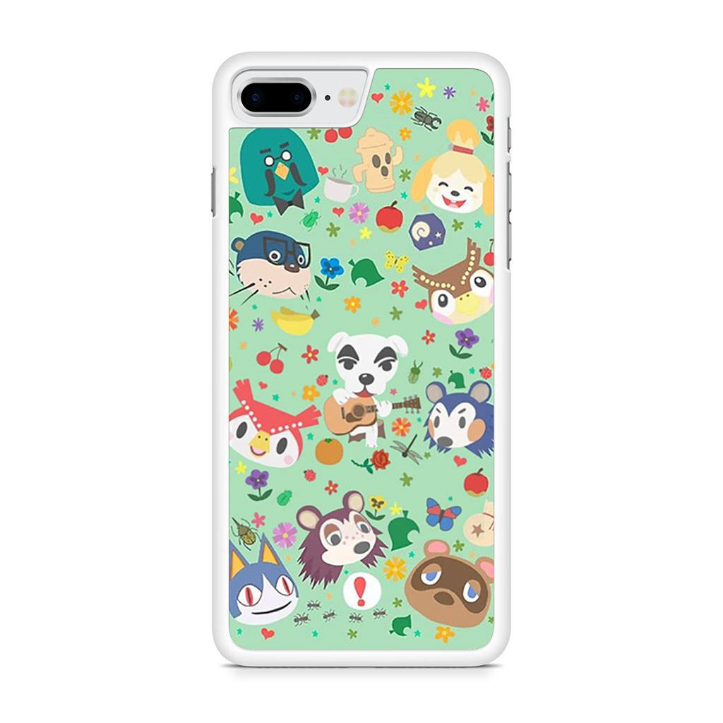 Animal Crossing New Leaf Town Folk iPhone 8 Plus case