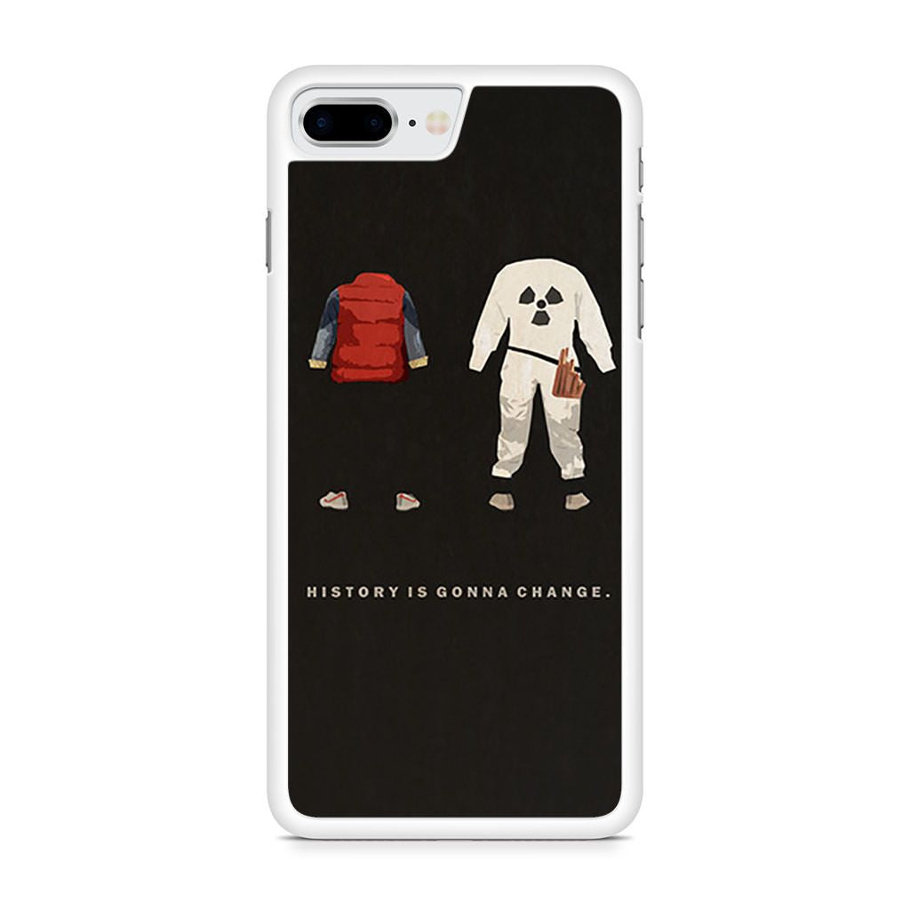 Back to the Future History is Gonna Change iPhone 8 Plus case