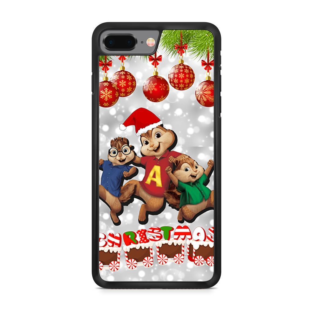 Alvin and the Chipmunks Christmas iPhone 8 Plus case