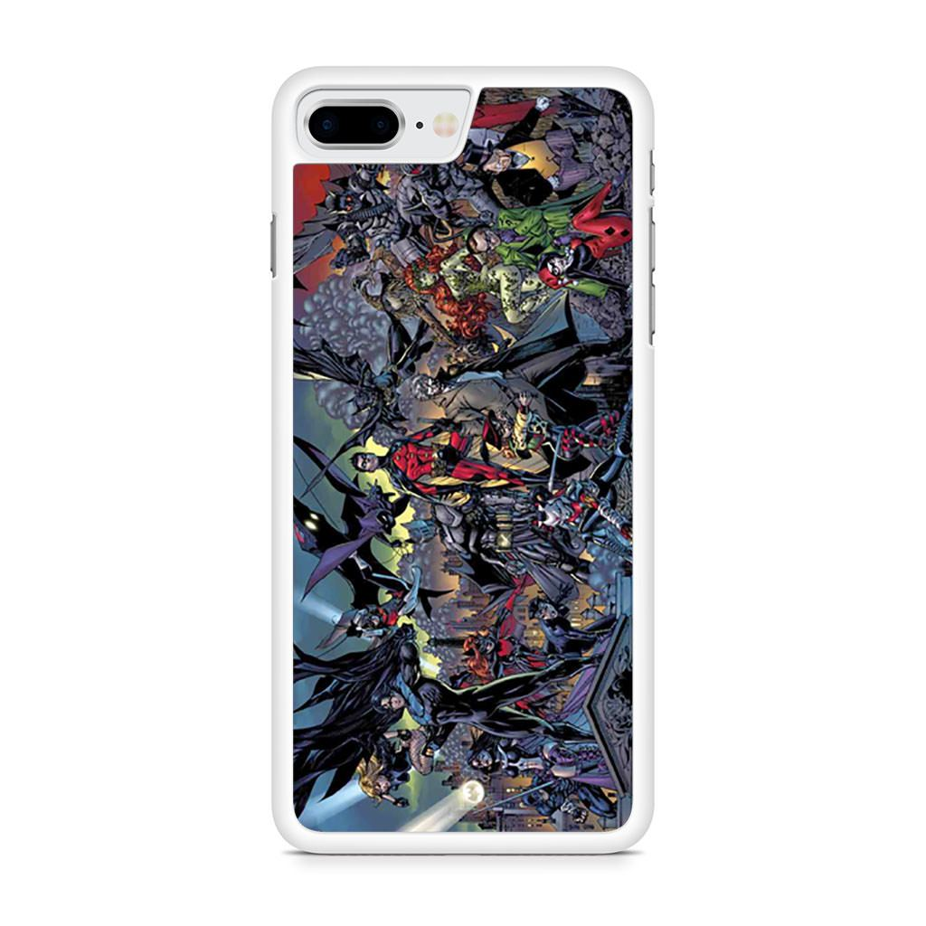 Batman Battle for the Cowl iPhone 8 Plus case