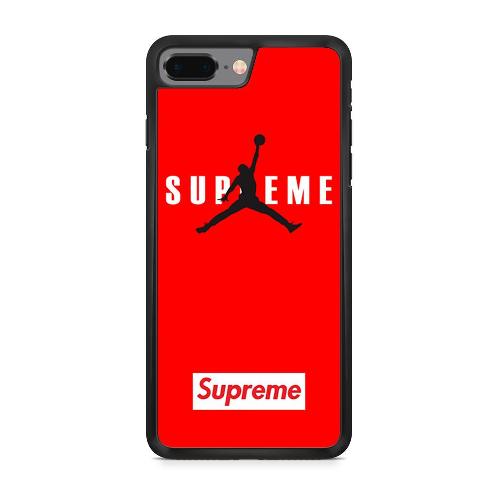 Air Jordan X Supreme Red iPhone 8 Plus case