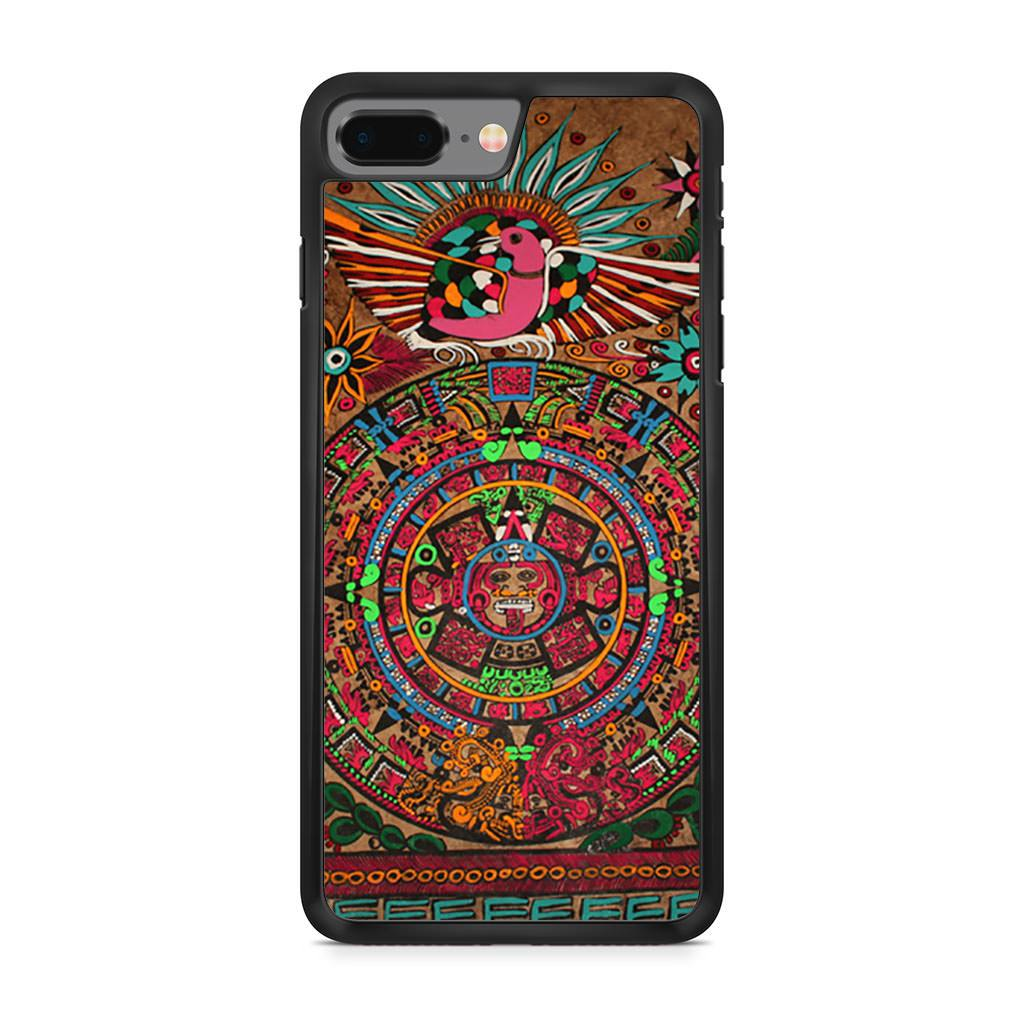 Aztec Mayan Sun And Moon iPhone 8 Plus case
