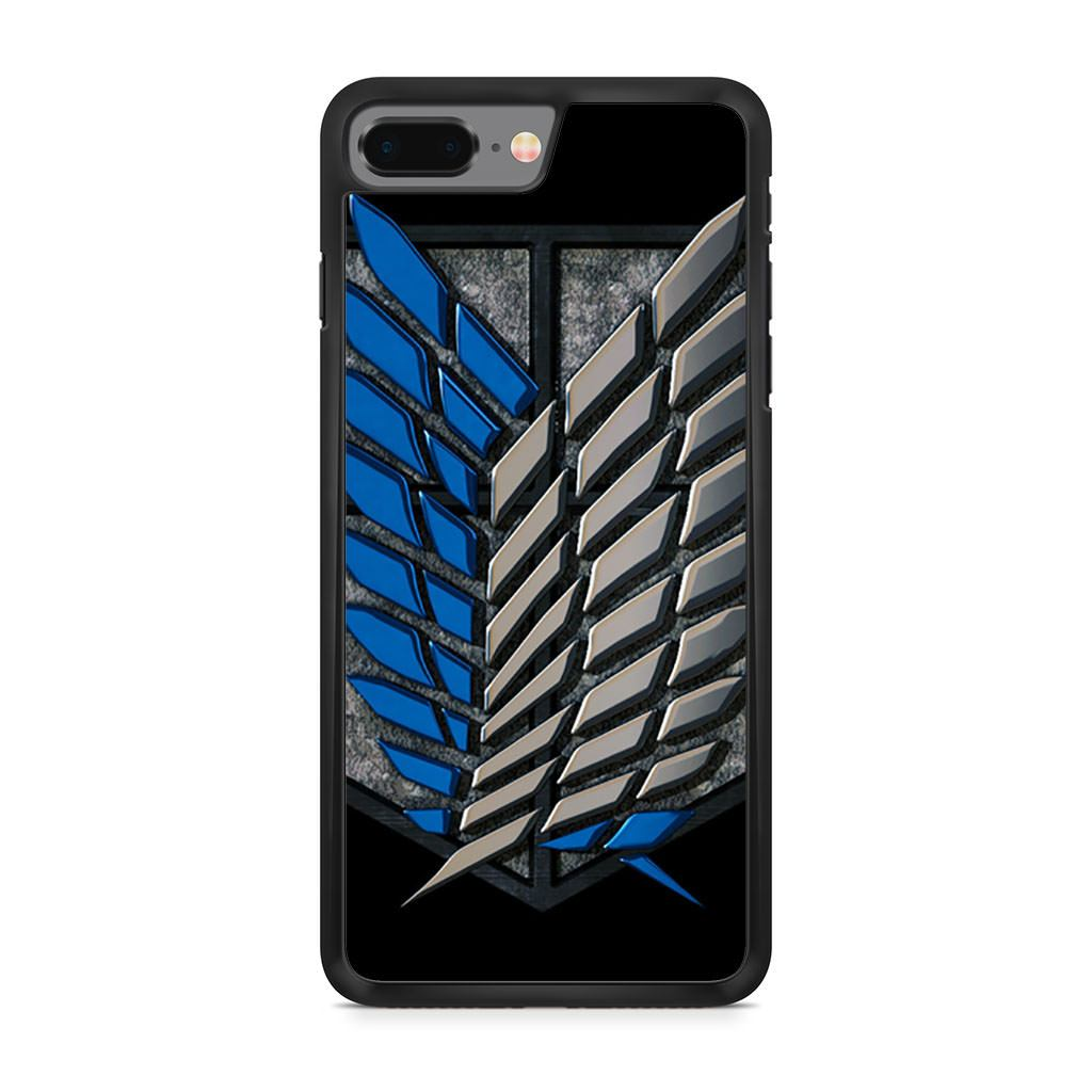 Attack On Titan Survey Corps iPhone 8 Plus case