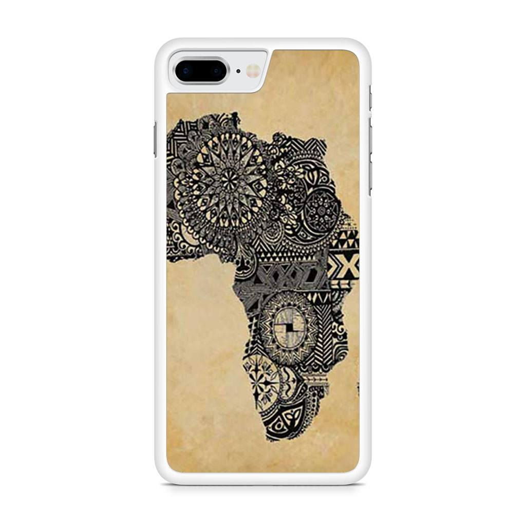 Africa Parchment iPhone 8 Plus case