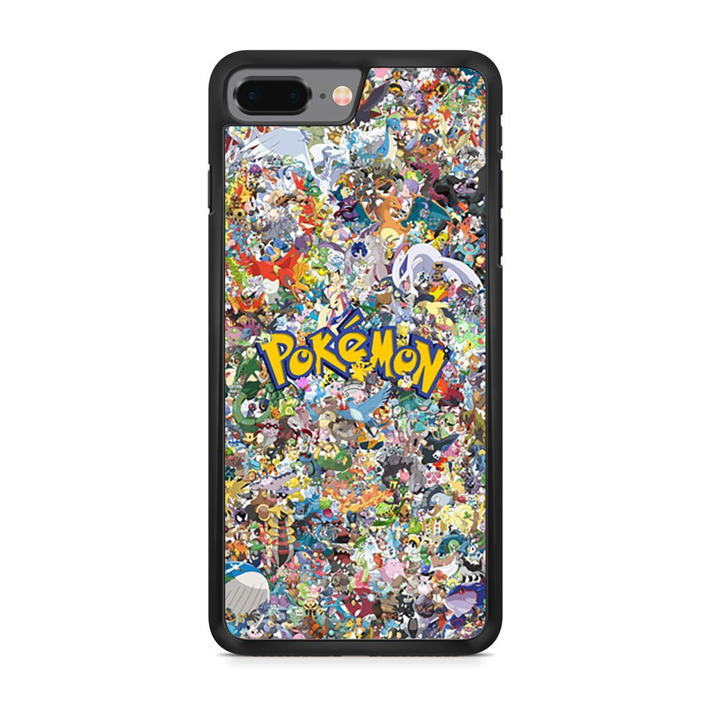 All Character Pokemon Collage iPhone 8 Plus case