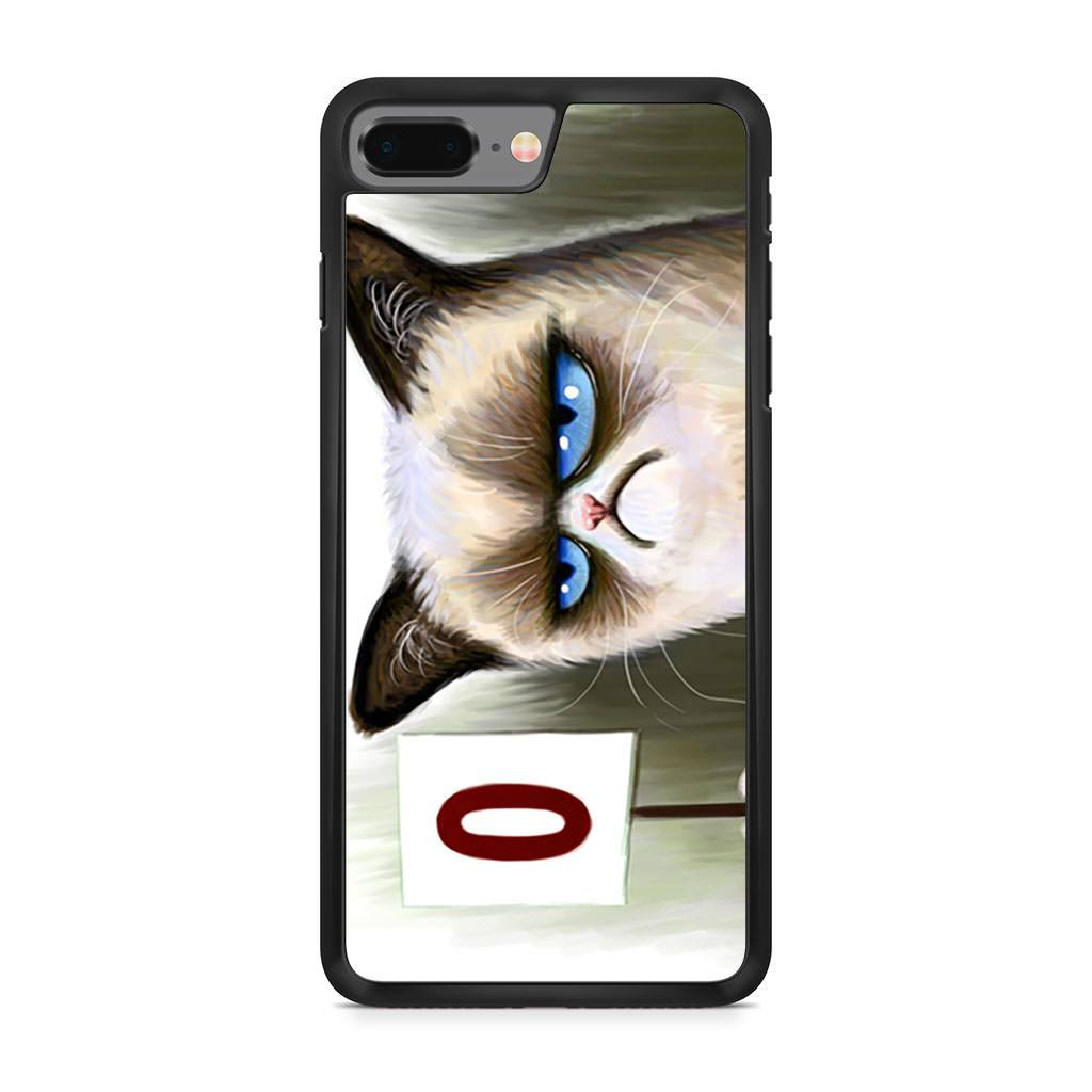 Angry Cat Grumpy iPhone 8 Plus case