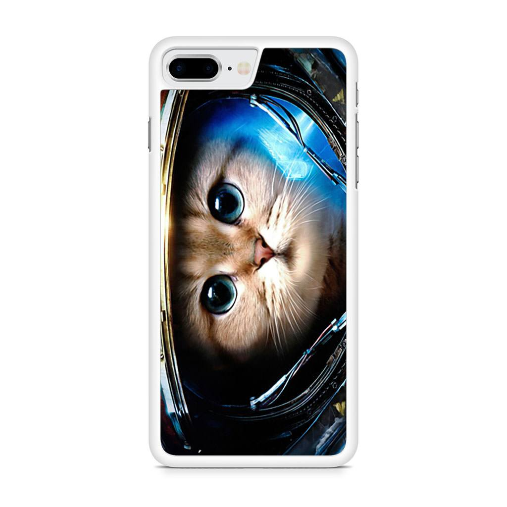Astronaut Cat Galaxy Space Nebula iPhone 8 Plus case