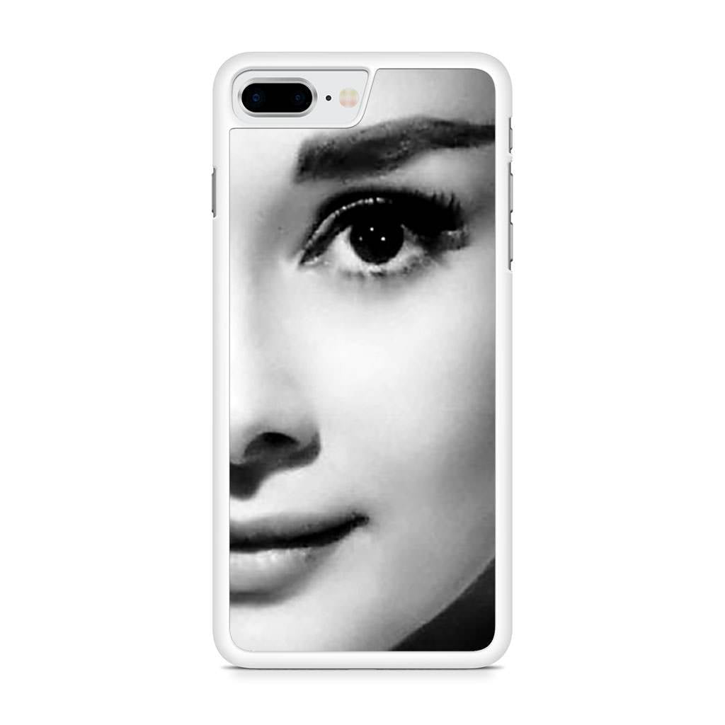 Audrey Hepburn iPhone 8 Plus case
