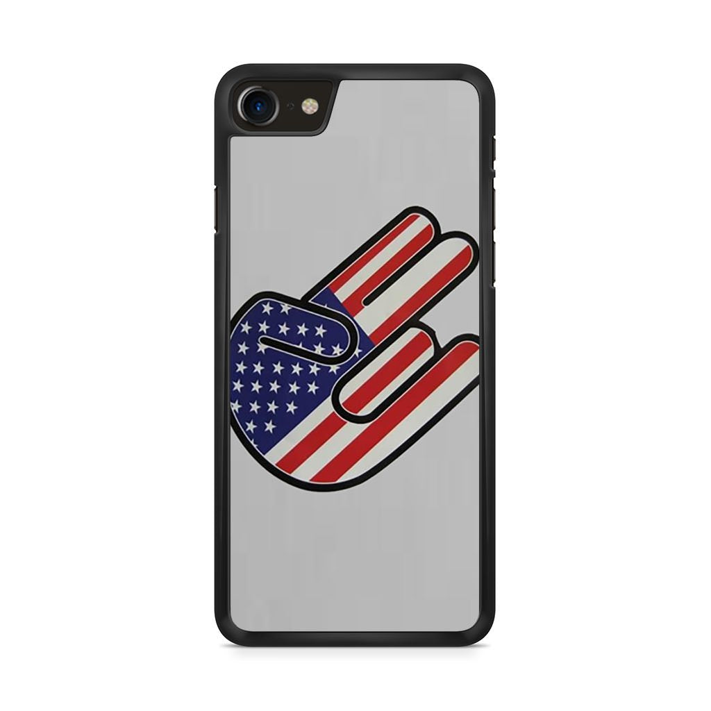 American Shocker USA Flag iPhone 8 case