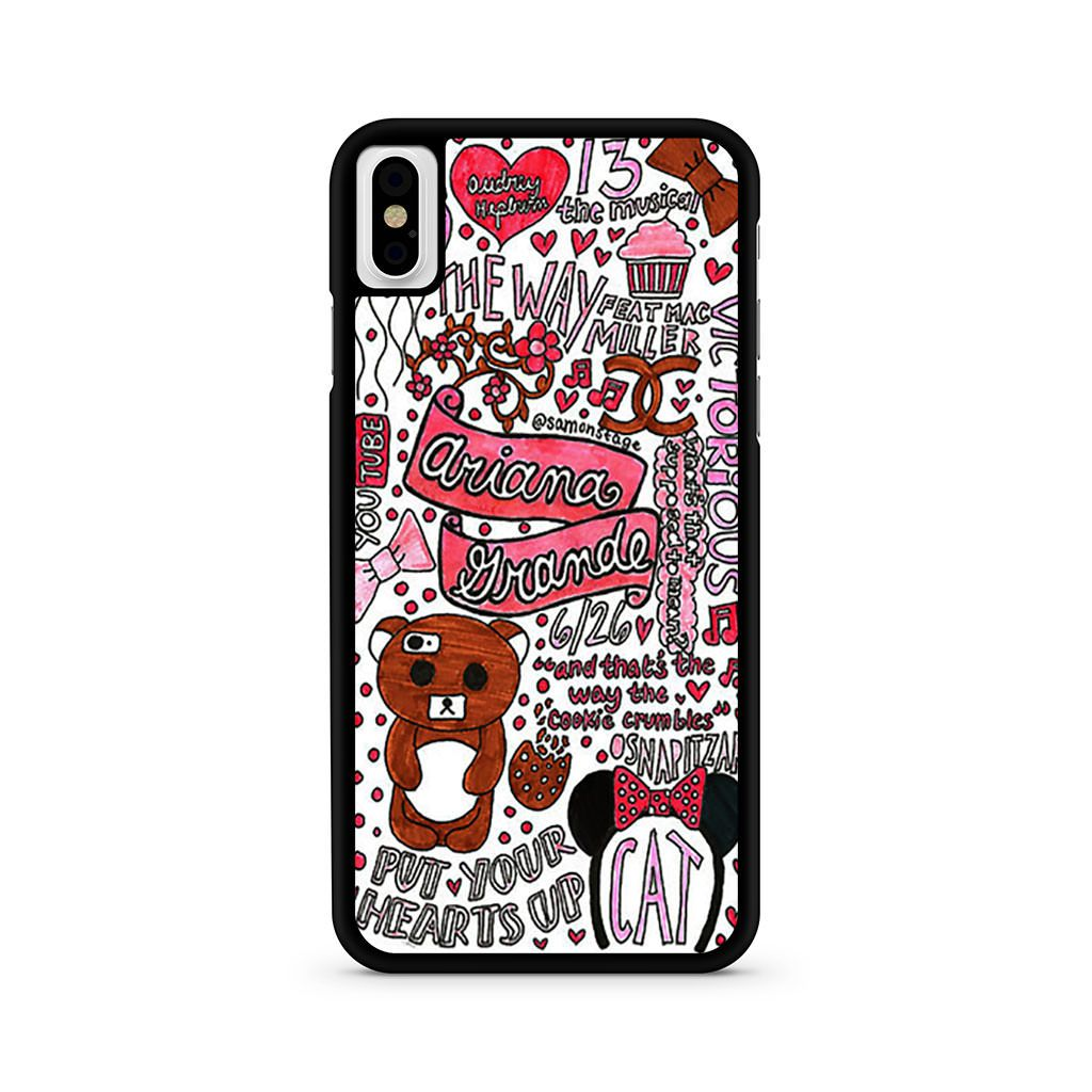 Ariana Grande Collage iPhone X case