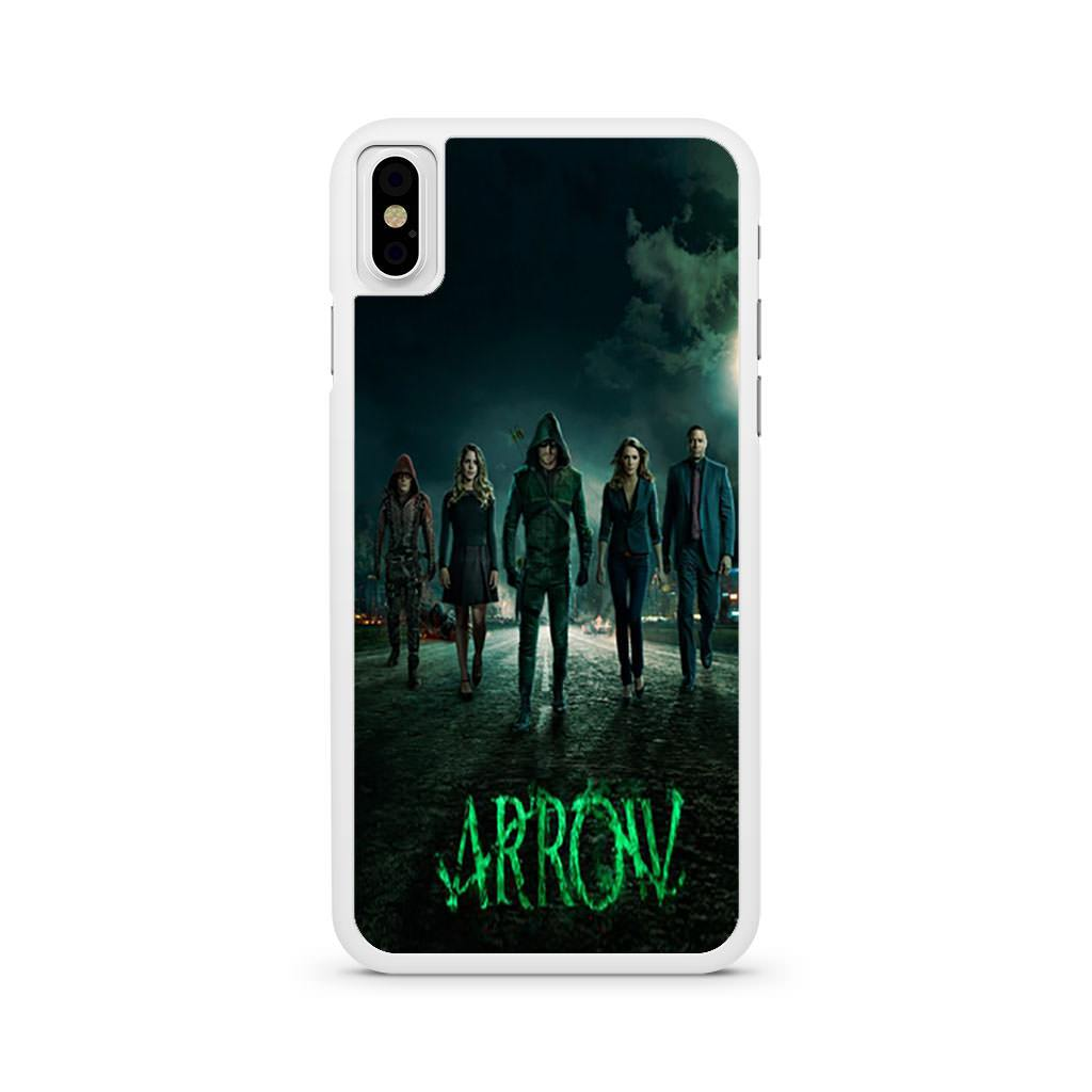 Arrow Season 2 Poster iPhone X case