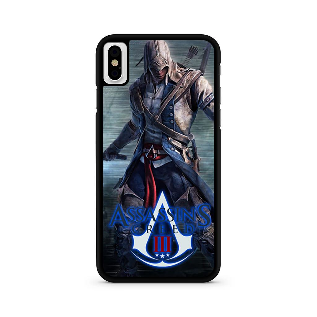 Assassins Creed 3 iPhone X case