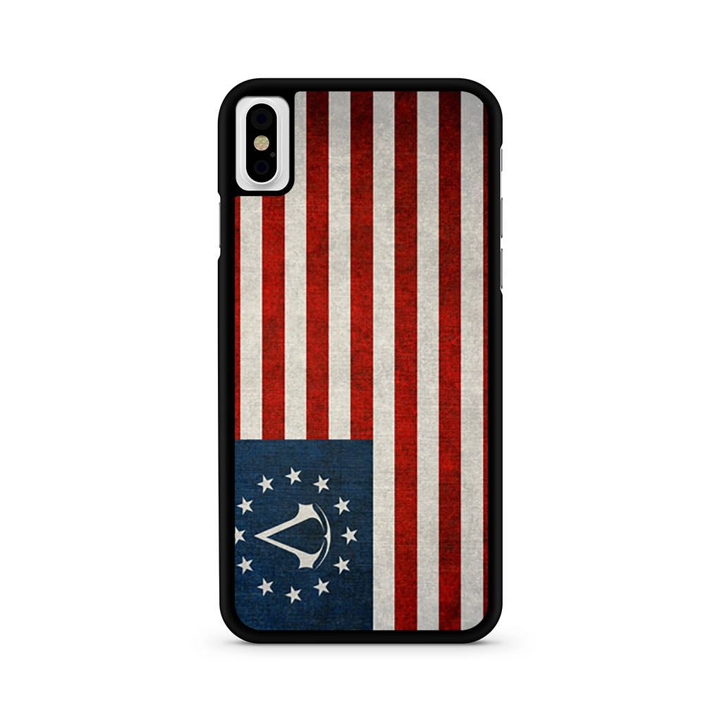 Assassin's Creed American Flag iPhone X case