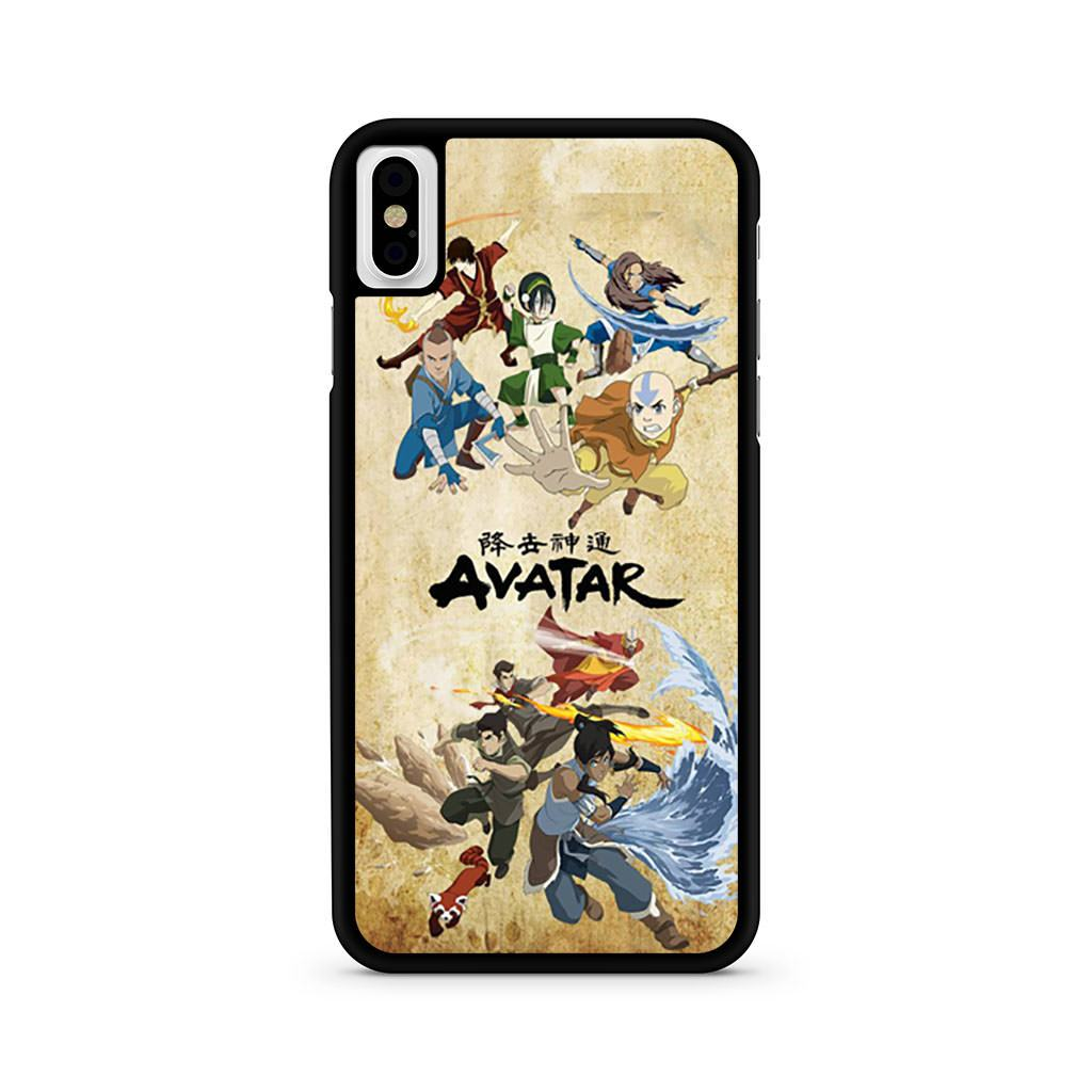 Avatar The Legend Of Korra Poster iPhone X case