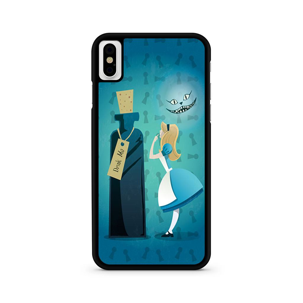 Alice In Wonderland Drink Me iPhone X case