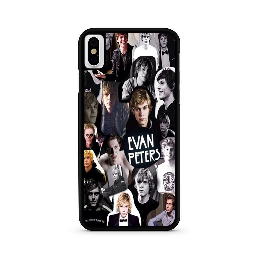 American Horror Story Evan Peters Collage iPhone X case