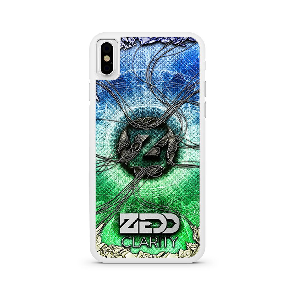 Zedd Clarity iPhone X case