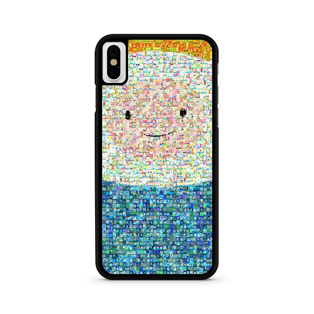 Adventure Time Finn Collage iPhone X case