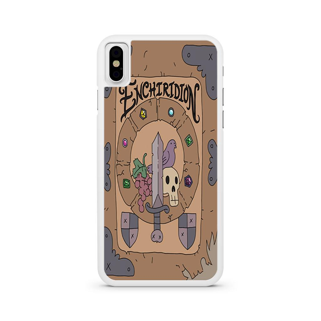 Adventure Time The Enchiridion iPhone X case