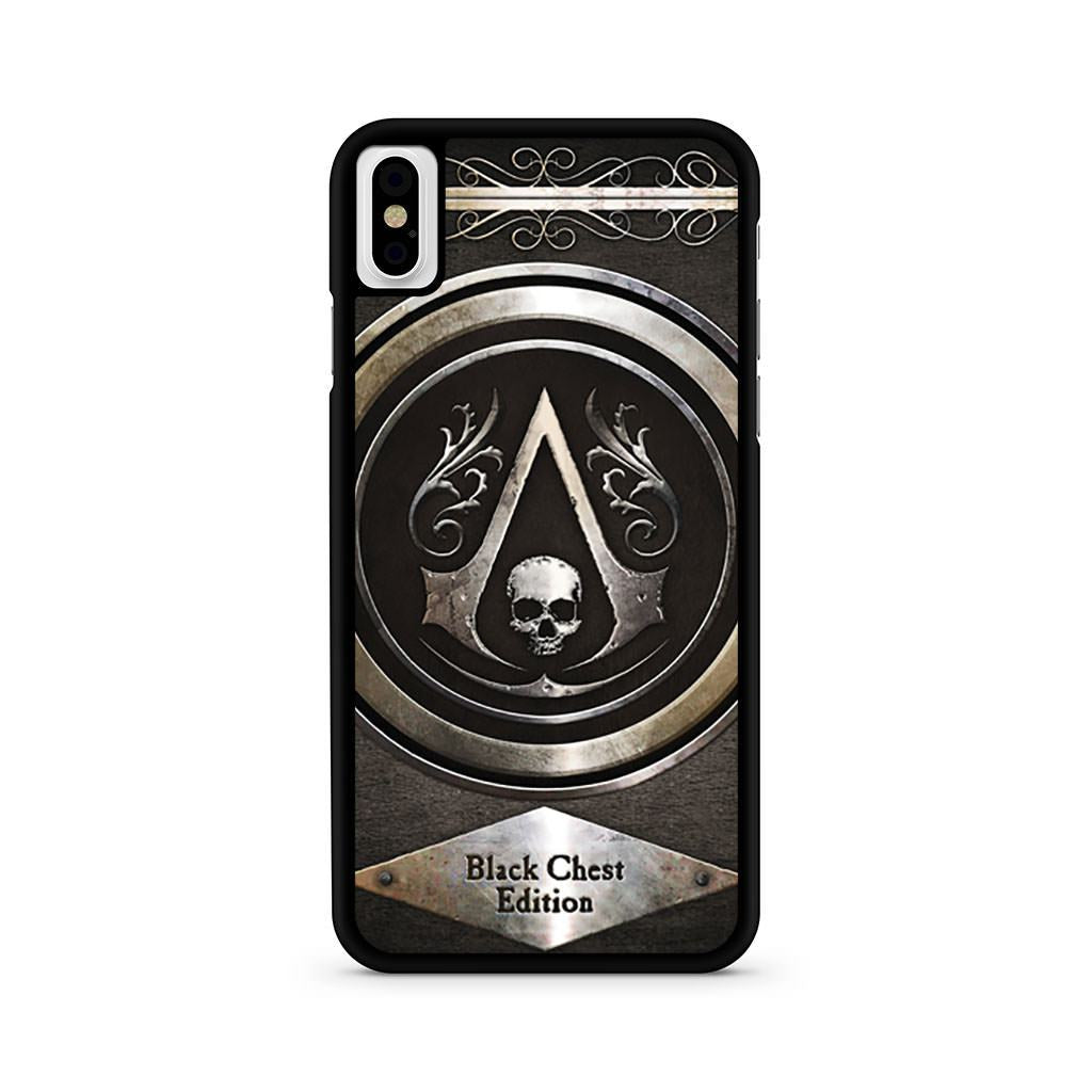 Assassin's Creed Black Chest Edition iPhone X case