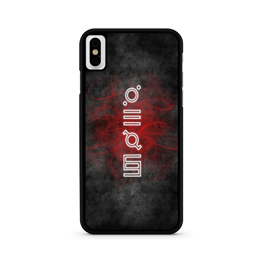 30 Seconds To Mars iPhone X case