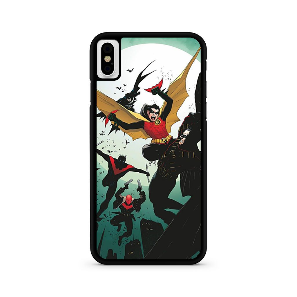 Batman And Robin Vol 2 iPhone X case