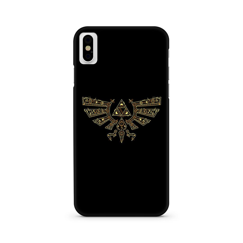Zelda Techno Triforce iPhone X case