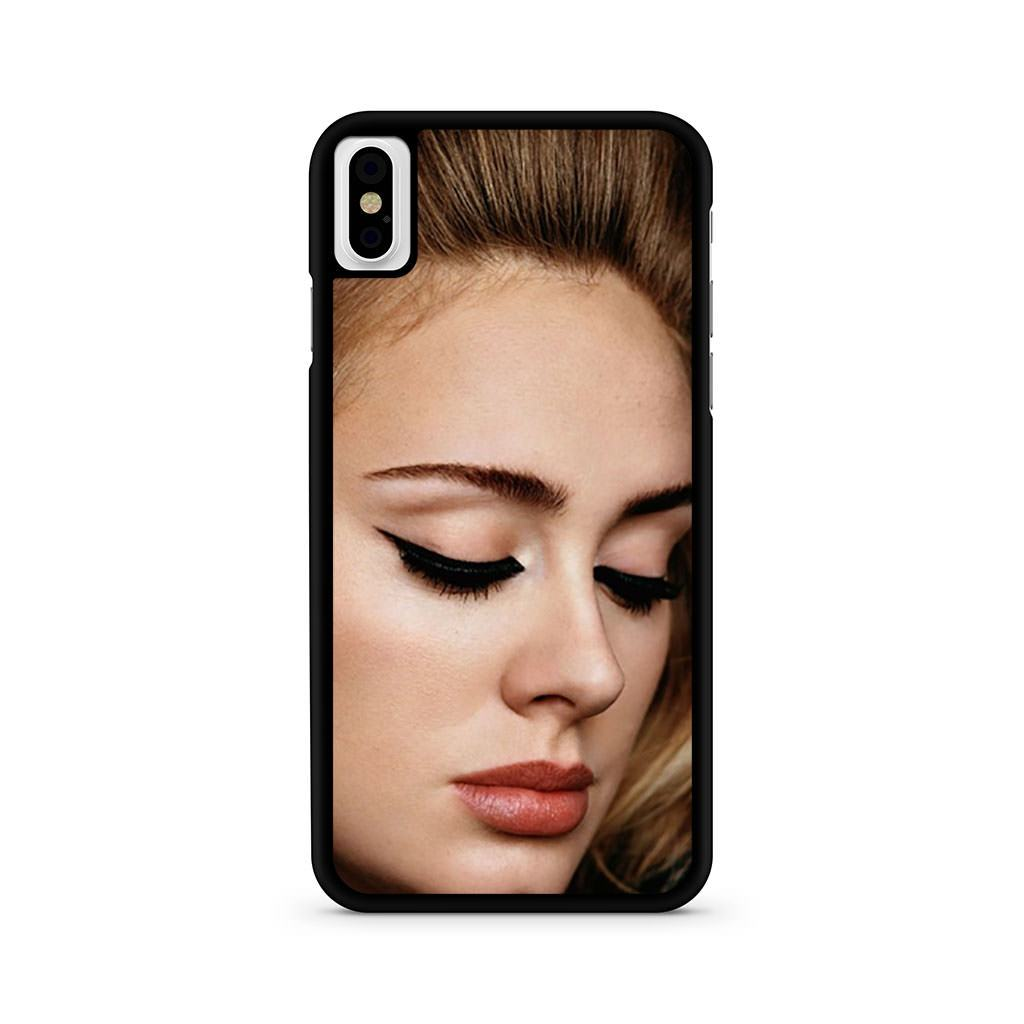Adele i-D Magazine iPhone X case