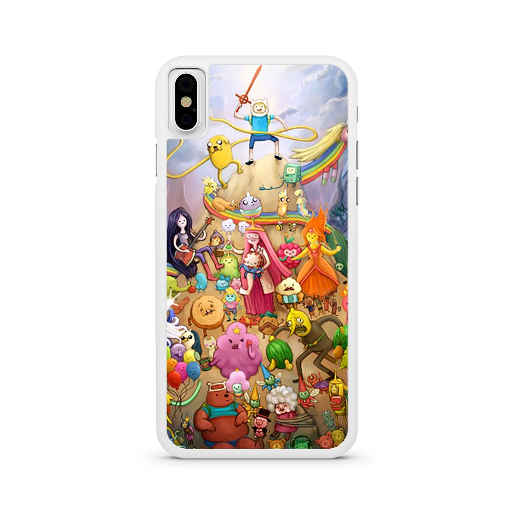 Adventure Time All Characters iPhone X case