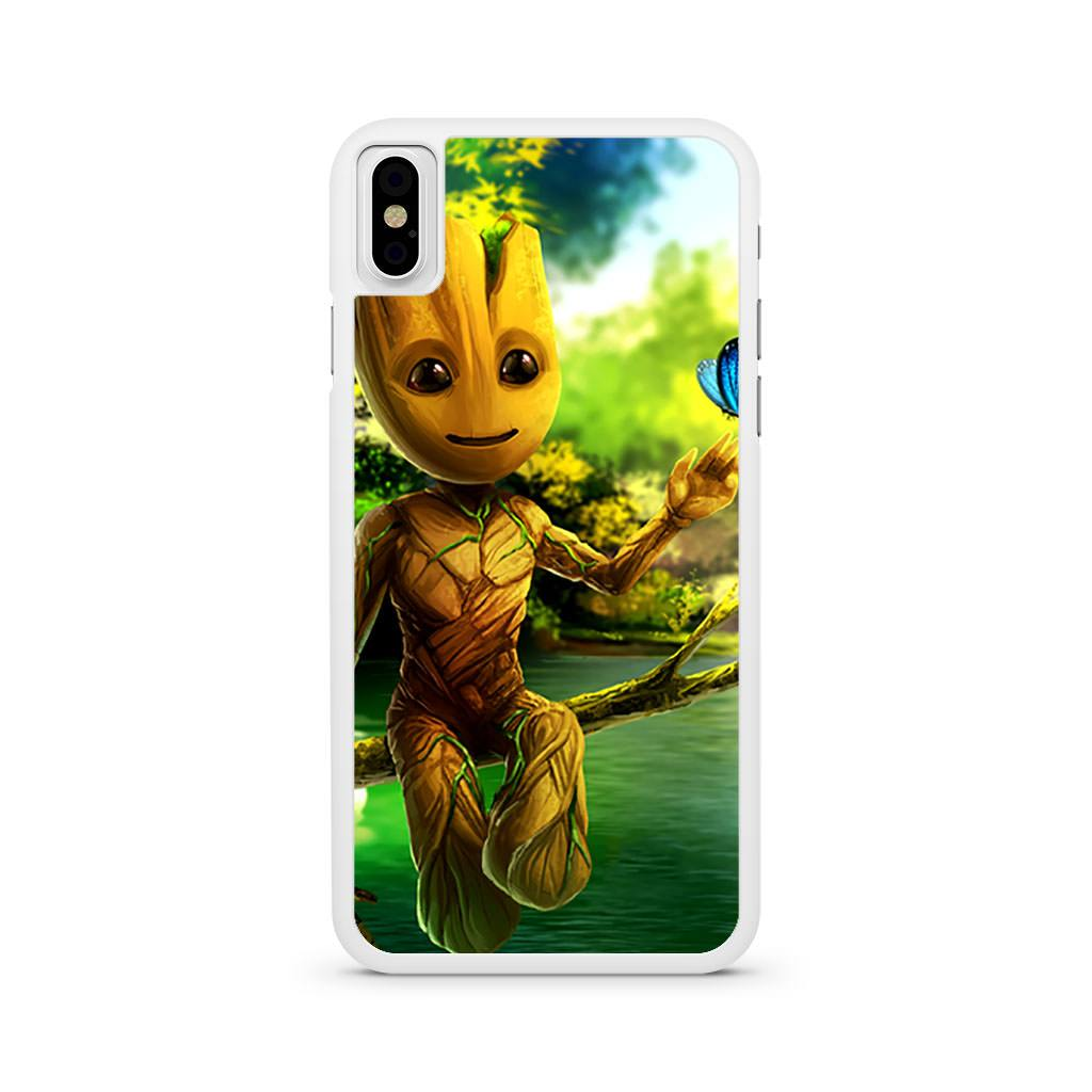 Baby Groot Guardians Of The Galaxy iPhone X case