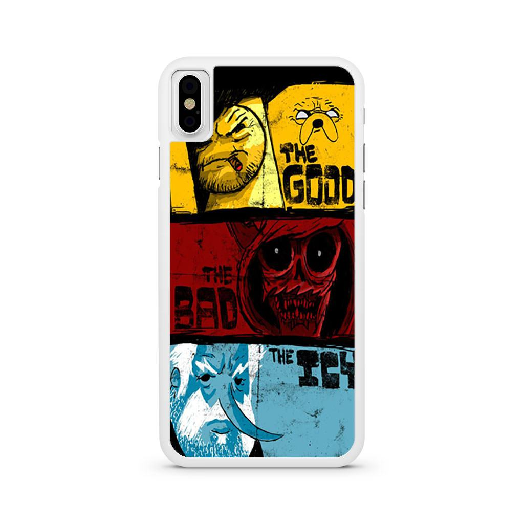 Adventure Time Samurai Jack Good Bad Icy iPhone X case