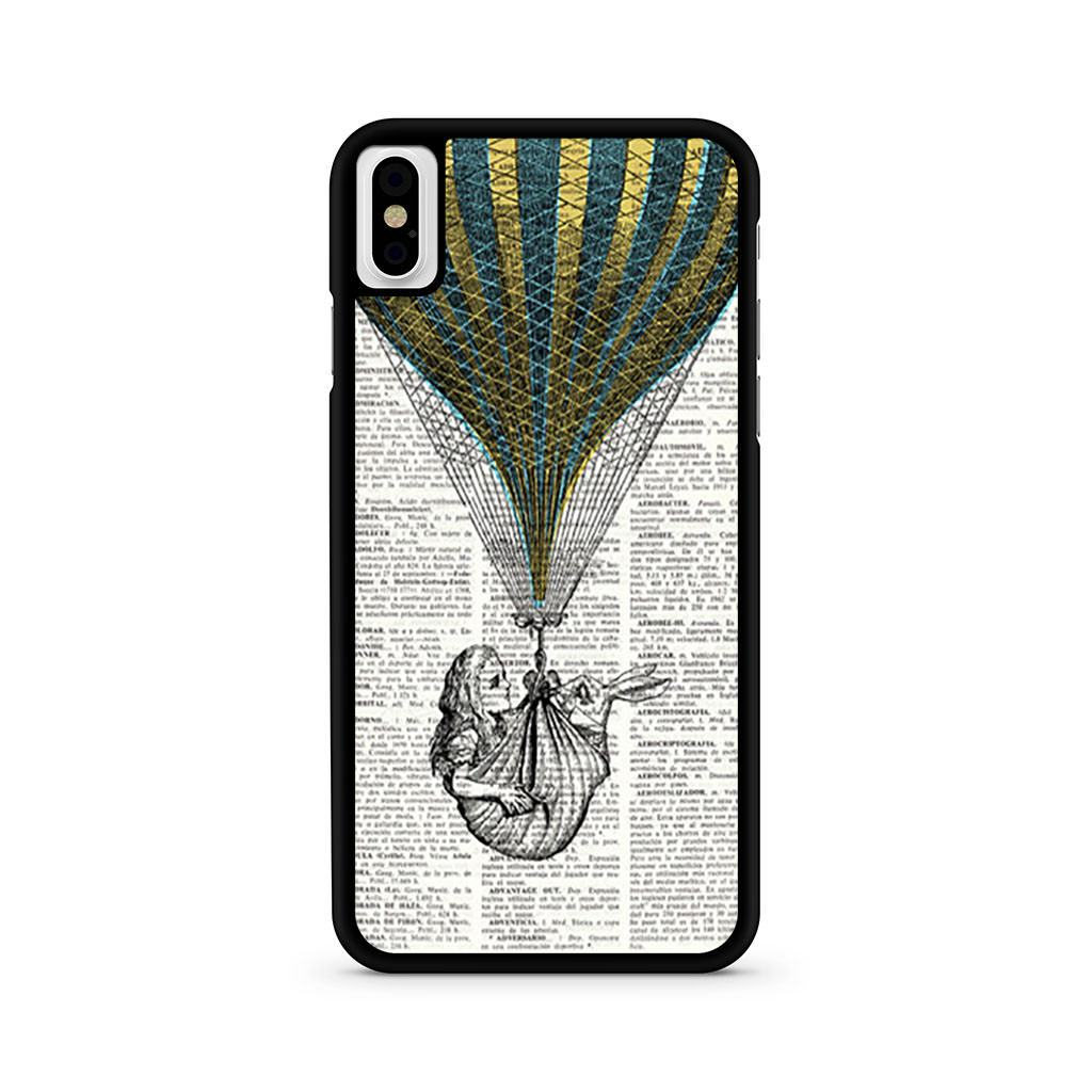 Alice In Wonderland Balloon Dictionary iPhone X case