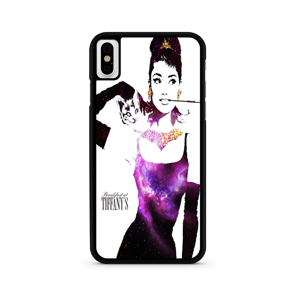 Audrey Hepburn Breakfast At Tiffany's iPhone X case