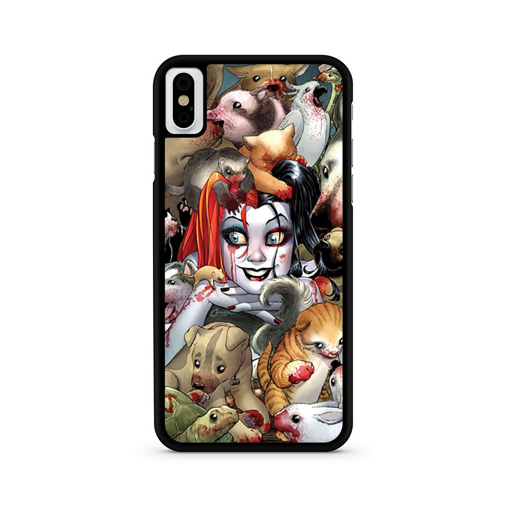 Amanda Conner Harley Quinn iPhone X case