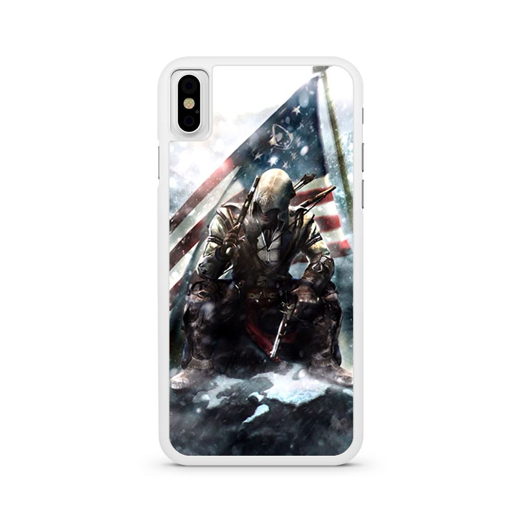 Assassin's Creed Connor Davenport iPhone X case