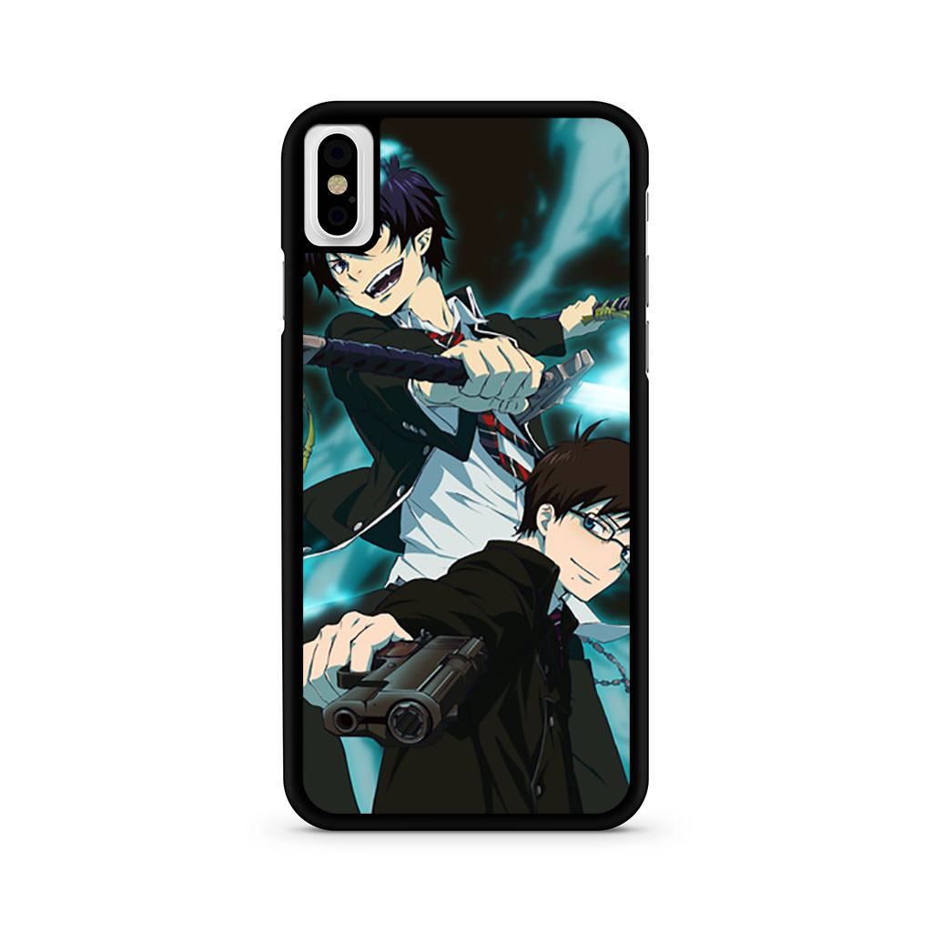 Ao No Blue Exorcist iPhone X case