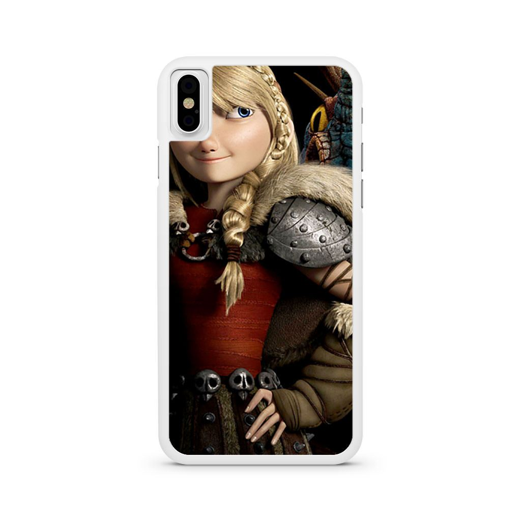 Astrid Hofferson How to Train Your Dragon iPhone X case