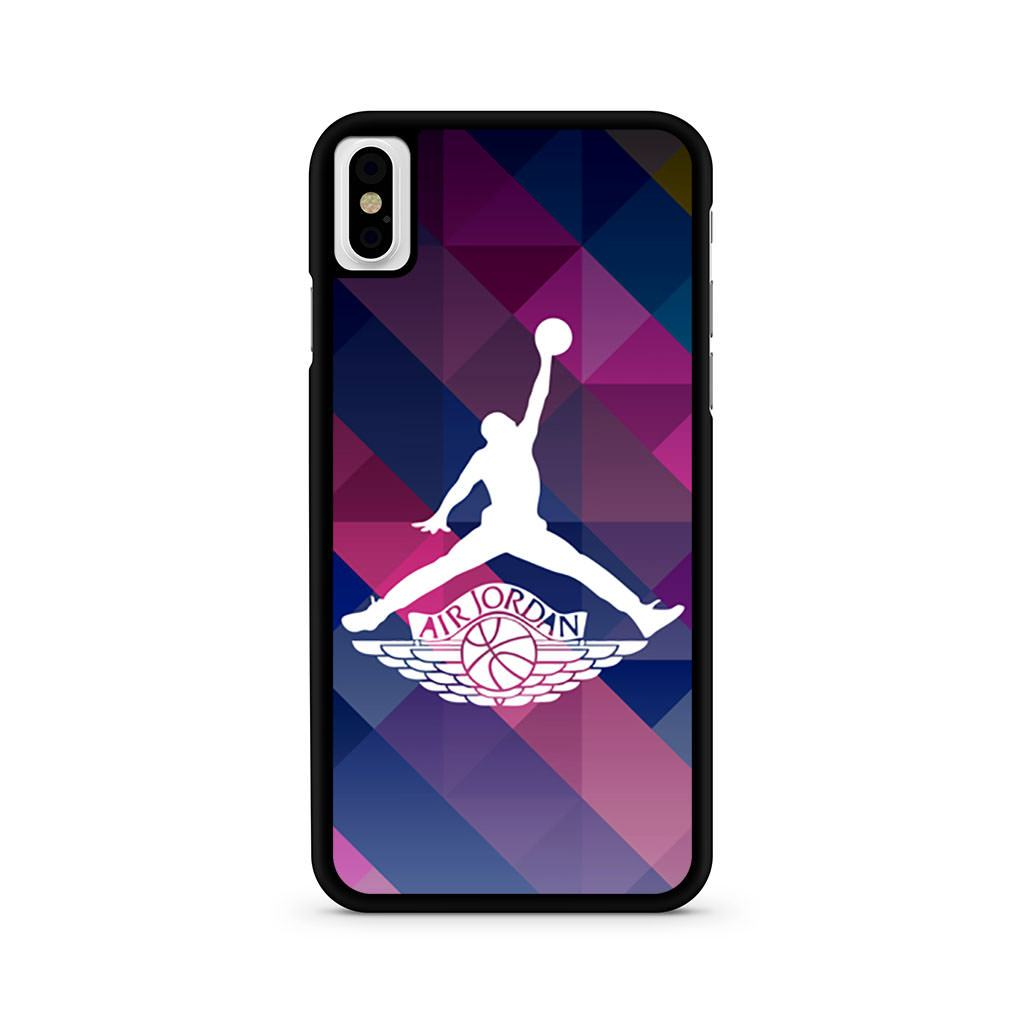 Air Jordan Classic Logo iPhone X case