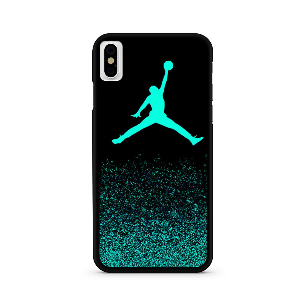 Air Jordan Faux Glitter iPhone X case
