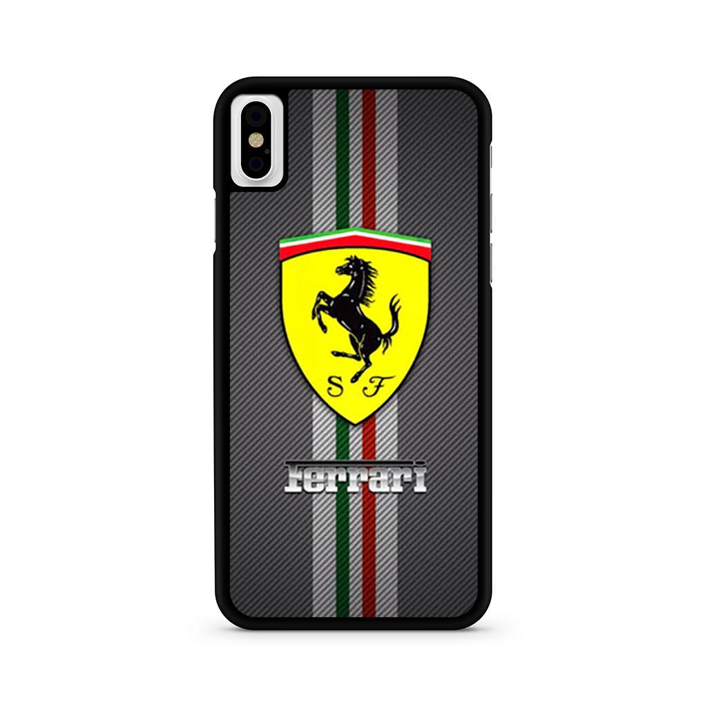 Scuderia Ferrari Logo iPhone X case