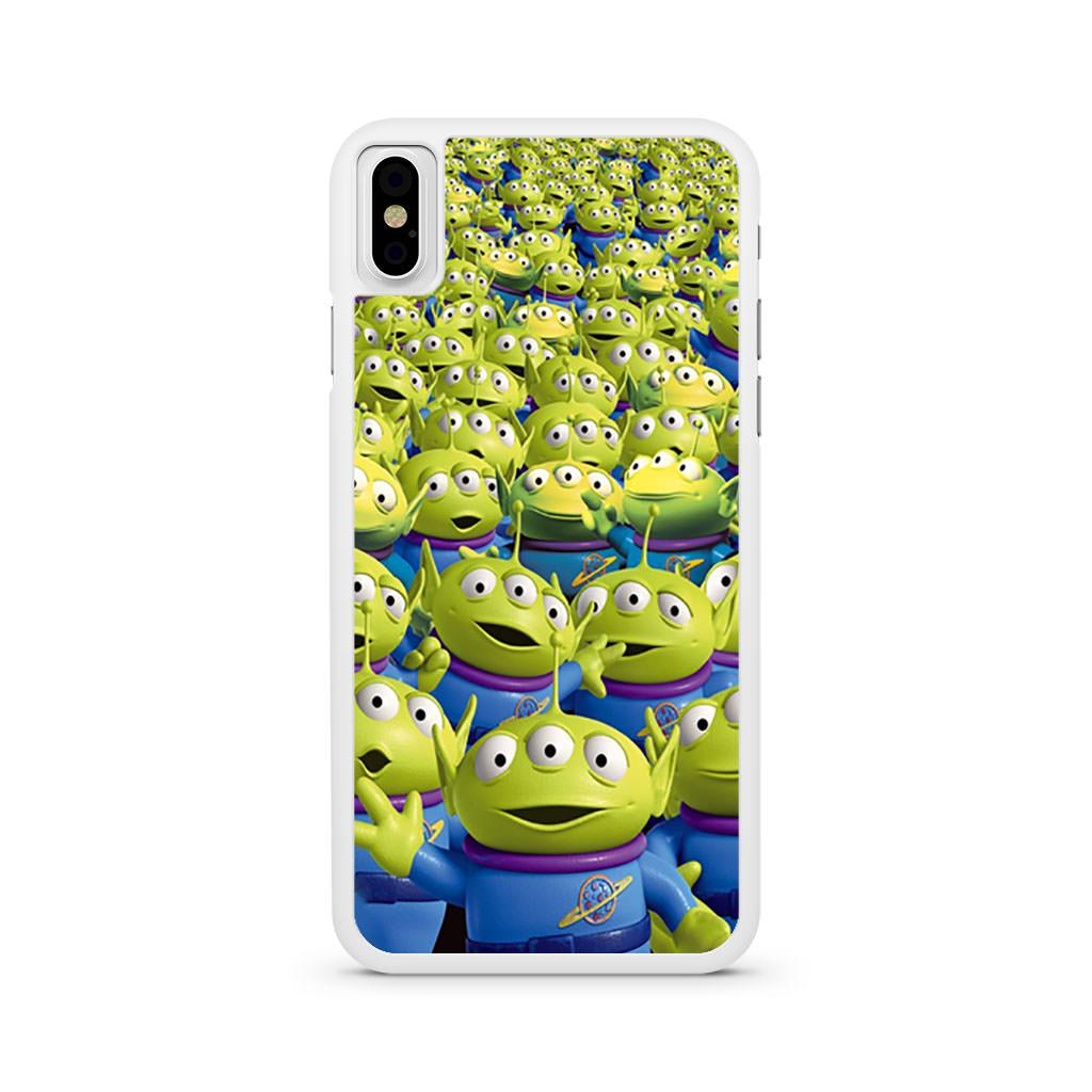 Aliens Toy Story iPhone X case