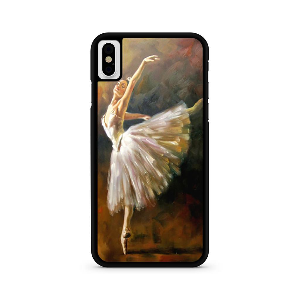 Ballet In The Night Painting iPhone X case